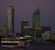 CBD sunset with Decoy by Gnangarra