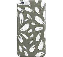 blossom (gray) iPhone Case/Skin