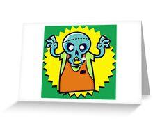 Zombieeeeee Greeting Card
