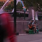 Buskers @ Dusk by Catherine C.  Turner