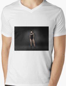 Fashion No.1 Mens V-Neck T-Shirt