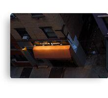 Little Basil, Broadway Alley Canvas Print