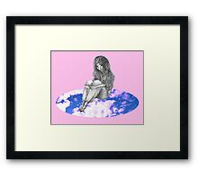 Cloud Girl Framed Print