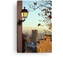 Sunset in Granada Canvas Print