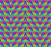 sd Swirly Colors 1G  by mandalafractal