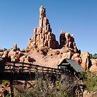 Big Mountain Railroad ride in Disney by Denise Wolff