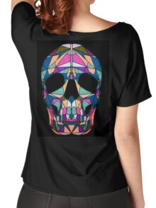 Rainbow Skull  Women's Relaxed Fit T-Shirt