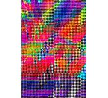Abstract Glitch Photographic Print