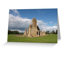 Sherborne Old Castle Greeting Card