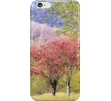Valley Trees In Springtime iPhone Case/Skin