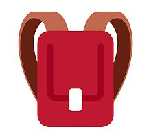 School Satchel Twitter Emoji by emoji