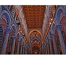 Pisa Cathedral, Pisa, Italy Photographic Print