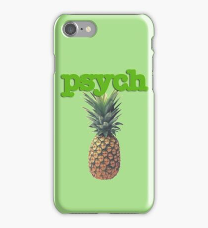 Psych iPhone Case/Skin