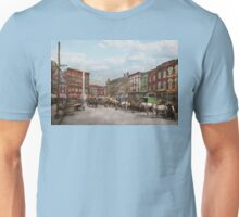 City - Norfolk Va - Hardware and Liquor - 1905 Unisex T-Shirt