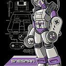 SNES Man by MeleeNinja