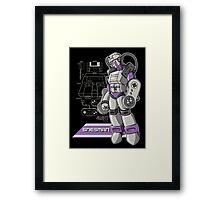 SNES Man Framed Print
