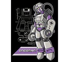 SNES Man Photographic Print