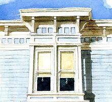 San Francisco Window by JGFineArt