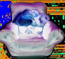 LSD MAD DUCK WORLD by darren  shaw