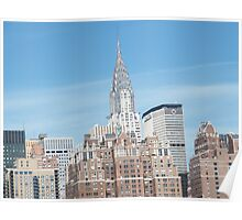 Chrysler Building, As seen from East River Poster