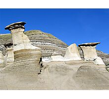 Hoodoos in the Badlands Photographic Print
