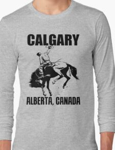 CALGARY, ALBERTA Long Sleeve T-Shirt