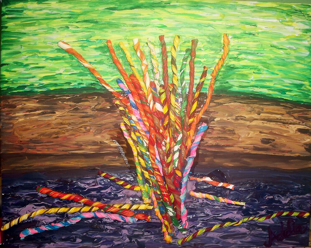 """Candy Sticks"" by Adela Camille Sutton"