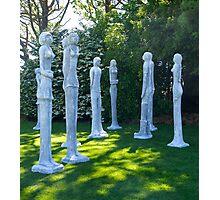Garden Sculptures, New Zealand. Photographic Print