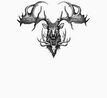 Graham's Ghost - Irish Elk and Elk Skull Unisex T-Shirt