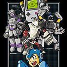 Console Master Robots by MeleeNinja