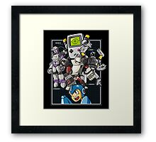 Console Master Robots Framed Print