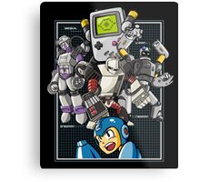 Console Master Robots Metal Print