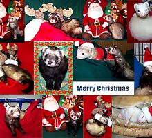 A Very Ferret Christmas  by Glenna Walker