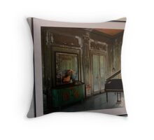 my beloved piano Throw Pillow