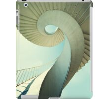 Spiral stairs in pastel tones iPad Case/Skin
