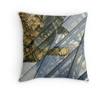 The Past Creeps In Throw Pillow