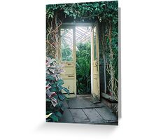 Out the In Door Greeting Card