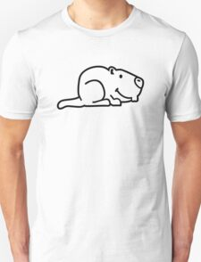 Comic marmot Unisex T-Shirt