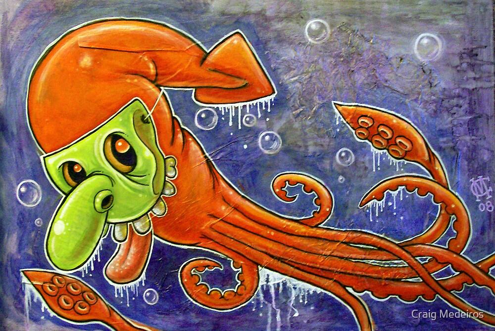 Dynamite Squid by Craig Medeiros