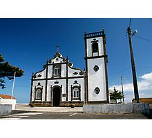 Church in Azores islands Photographic Print