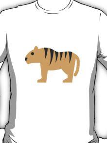 Tiger Twitter Emoji T-Shirt