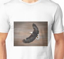 An Artistic Presentation Of The American Bald Eagle Unisex T-Shirt