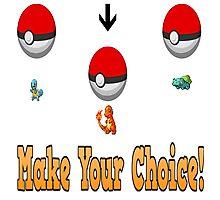 Make your choice? Photographic Print