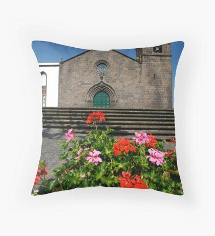 Sao Miguel Arcanjo church Throw Pillow