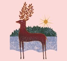 Deer in Sunlight Kids Clothes