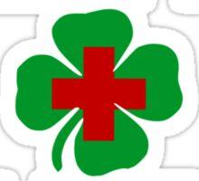KISS ME IM AN IRISH NURSE Sticker