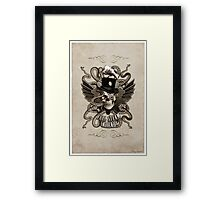 Full Steam Ahead!  Framed Print