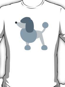Poodle Twitter Emoji T-Shirt