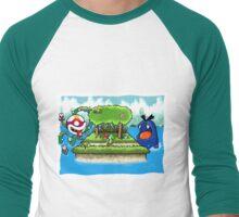 A Yoshi's Story Men's Baseball ¾ T-Shirt