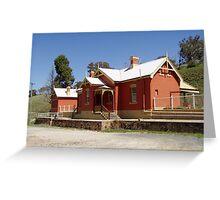 Carcoar Railway Station Greeting Card